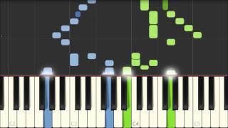 Rule Britannia - Thomas Augustine Arne [Piano Tutorial] (Synthesia)