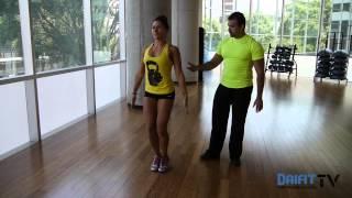 Jumping Jacks y saltos de tijera (variante) - Daifit TV