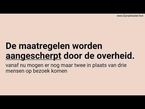Afl.188: Leer 20 Nederlandse woorden op A1 A2 niveau