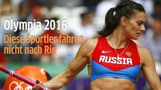 Olympia 2016: Diese Sportler fahren nicht nach Rio