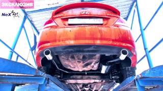 NeX® new Hyundai Solaris Sedan Restyle. Лучшее решение выхлопа!