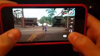 GTA SAN ANDREAS ON IPHONE 5