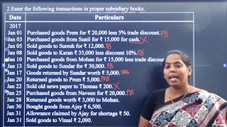 I PUC | ACCOUNTANCY  | RECORDING OF TRANSACTIONS -  II - 10