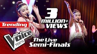 Madhuvy Vaithialingam   Urvasi Urvasi   The Live Semi Finals   The Voice Teens Sri Lanka