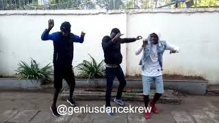 Koffee-toast dance choreography by alphie danceprince and genius dancekrew