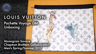 3c27592476d7 ดาวน์โหลดเพลง Louis Vuitton Pochette Voyage Gm Unboxing – Chapman Monogram  Savane