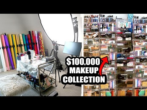 BEAUTY ROOM TOUR + PRO FILMING SET UP!