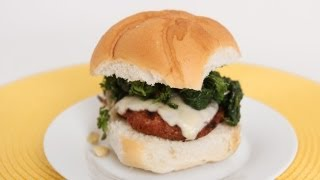 Sausage & Broccoli Rabe Burgers Recipe - Laura Vitale - Laura in the Kitchen Episode 608