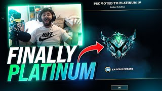 Yassuo | WE'RE FINALLY PLAT! (Jungle Unranked to Challenger)