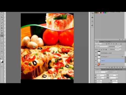 Photoshop Menu Pizzeria tipo Flyer by Yanko0