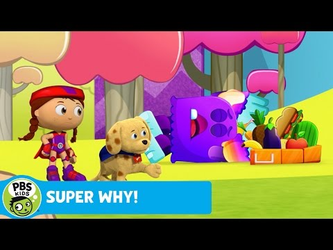 SUPER WHY! | Woofster Defines Energy | PBS KIDS