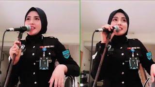 Akak Polis Cantik Nyanyi Lagu Syantik