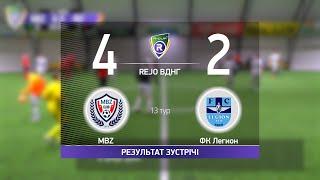 Обзор матча MBZ 4 2 ФК Легион Турнир по мини футболу в городе Киев