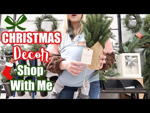 SHOP WITH ME FOR CHRISTMAS DECOR | A DAY IN THE LIFE VLOG | BRITTANI BOREN LEACH