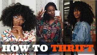HOW TO THRIFT LIKE A PRO | Tips & Tricks for Beginners