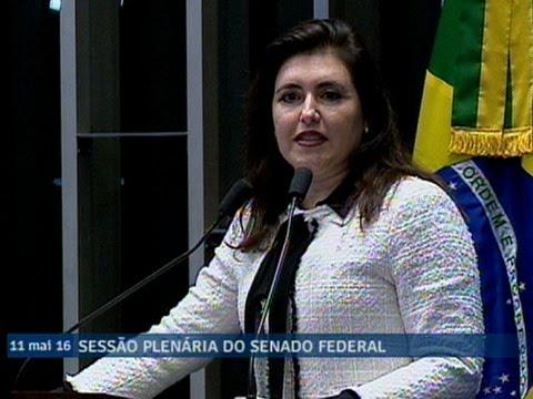 Simone Tebet reafirma seu voto pela admissibilidade do processo de impeachment