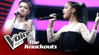 Hanna Shafa | Rolling in the Deep | Knockouts | The Voice Teens Sri Lanka