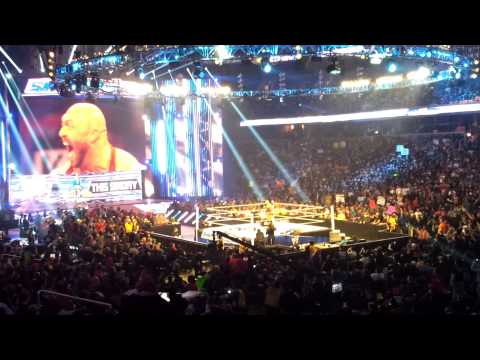 WWE Raw/SMACKDOWN RYBACK VERIZON CENTER 01.04.2013