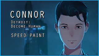Speed Paint : CONNOR [Detroit: Become Human Game]