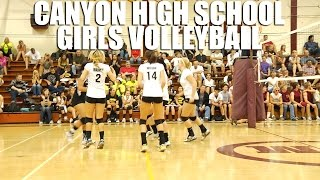 Canyon Girls High School Volleyball by Alex Iseri