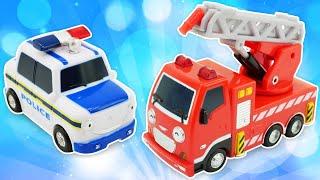 Spielspaß mit den Helfer Autos  3 Kindervideos am Stück