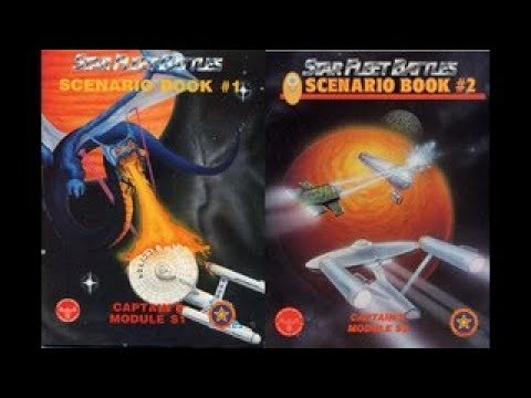 Star Fleet Battles Scenario books