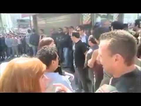 Policia secreta pillados frente a el corte ingles de plaza - El corte ingles plaza cataluna barcelona ...