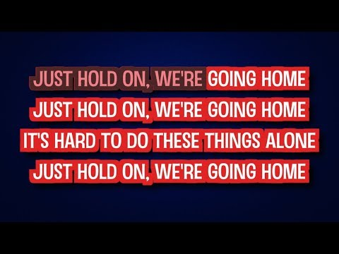 Hold On We're Going Home - Drake feat. Majid   Karaoke
