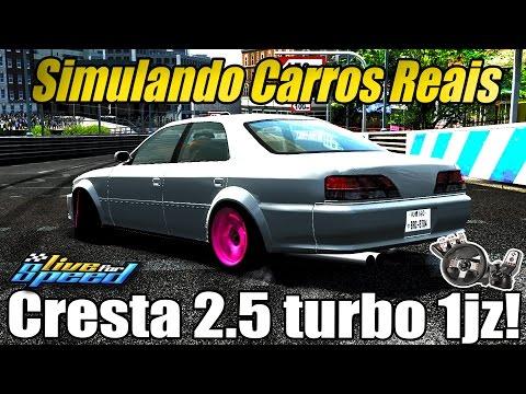 Simulando Carros Reais #7 - Toyota Cresta estilo BRClubTV! (G27 mod)