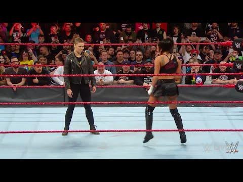 RONDA ROUSEY SALVA A NATALIA -WWE RAW EN ESPAÑOL, 16 ABRIL