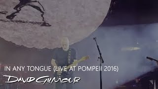 David Gilmour - In Any Tongue (Live At Pompeii)