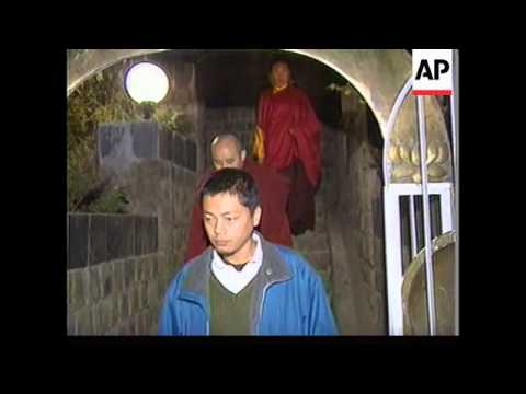 INDIA: DHARMSALA: KARMAPA LAMA ESCAPES CHINESE-RULE