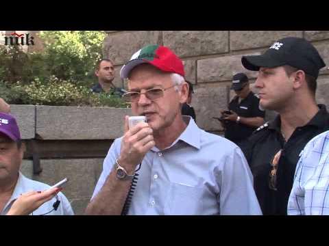 Синдикати и работодатели на внушителен протест