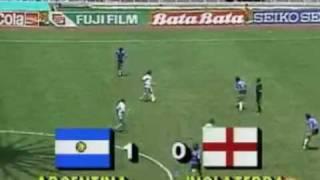 La Mano De Dios. Argentina vs England Mexico