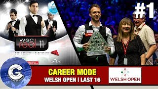 Let's Play WSC Real 11 (PS3) | World Snooker 2011 Career Mode #1: WE'RE NEARLY THERE!