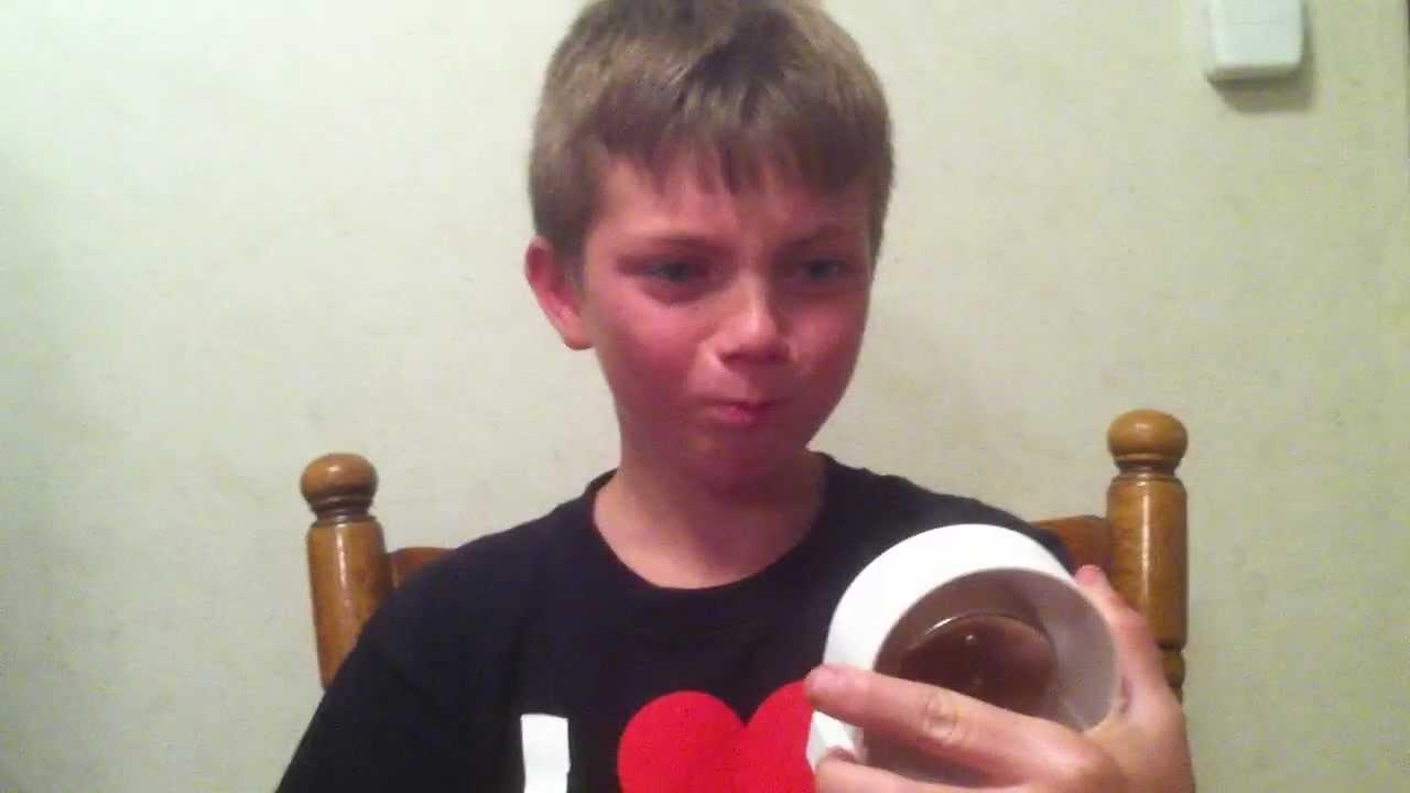 Young Boy Eats Habanero Pepper