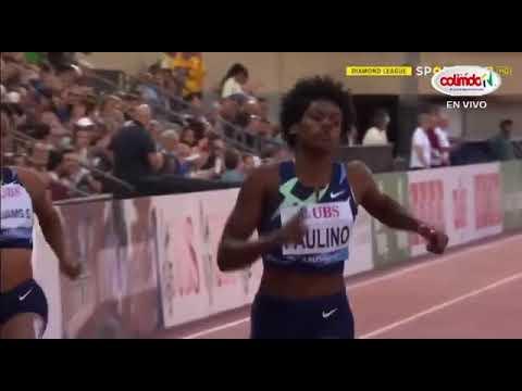 Marileidy Paulino sigue imponente, quedó en primer lugar en Liga Diamante, Suiza