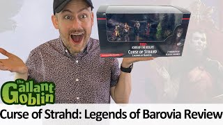 Curse of Strahd: Legends of Barovia Minis Review - Icons of the Realms - WizKids Prepainted