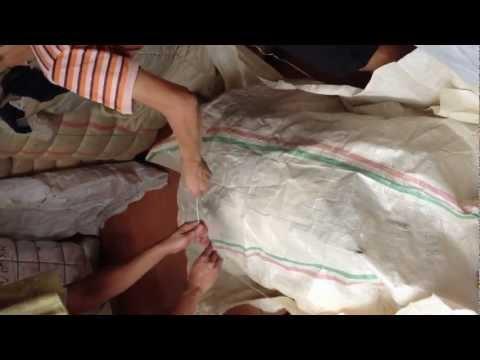 ผ้ากระสอบเด็ก 8 ดาว เบบี้