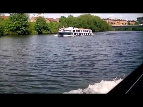 Cardiff Bay Aquabus To City Centre - On Boat POV