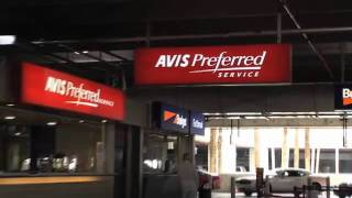 Miami International Airport (MIA) - Finding Your Way to the Avis Counter
