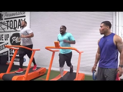 Kevin Hart & Ndamukong Suh Workout | Just-Train TV