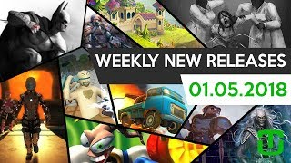 Weekly New Releases: Batman - Arkham City, The Town of Light, Project Temporality, and more!