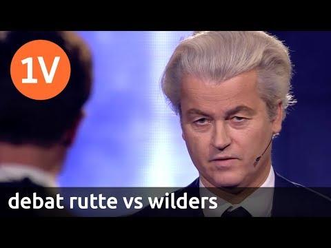 Terugkijken: Debat Rutte vs. Wilders