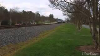 Doppler effect train horn