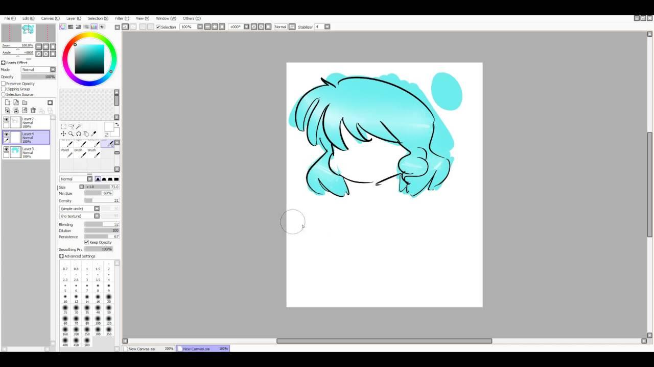 digital art tutorial on how to shade and highlight hair youtube