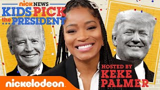 """""""Kids Pick the President"""" Hosted by Keke Palmer 