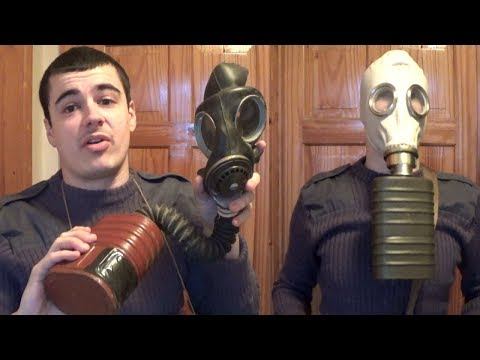 Why did gas masks have hoses?