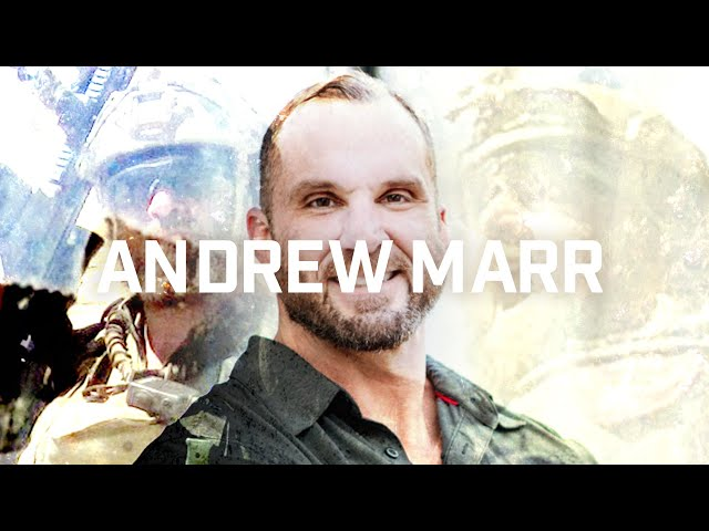 Andrew Marr, retired Special Forces, Green Beret and Warrior Angels Foundation Chairman