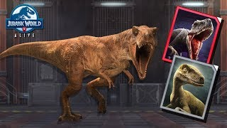 WHY YOU MIGHT HAVE TO WAIT FOR INDORAPTOR IN JURASSIC WORLD ALIVE